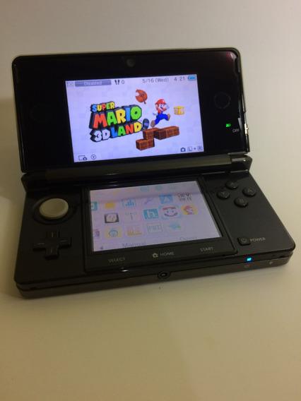 Nintendo 3ds - Black / Preto Em Ótimo Estado