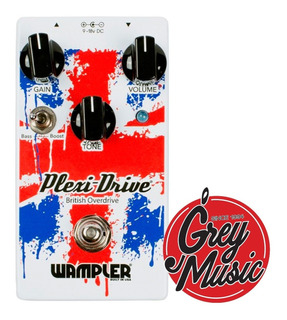 Pedal Wampler Plexi Drive Overdrive - Grey Music -