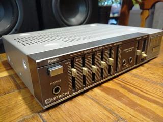 Espectacular Mini Amplificador Hitachi Ha-j3 Japan!! Hbaudio