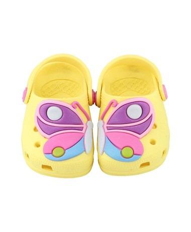 424e4139e Babuche Crocs Infantil Plugt Baby Borboleta Promoção - R$ 44,90 em ...