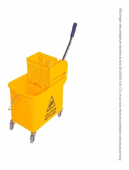 Cubeta De 20 Lt C/divisor Y Exprimidor