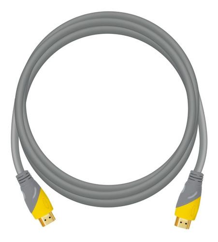Imagen 1 de 9 de Cable Hdmi 1.5 Metros 4k Ps4 Apple Tv Pc Laptop 3d Xbox