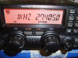 Rádio Hf Ssb Vertex Vx-1700, 100w De Potência E 200 Canais.