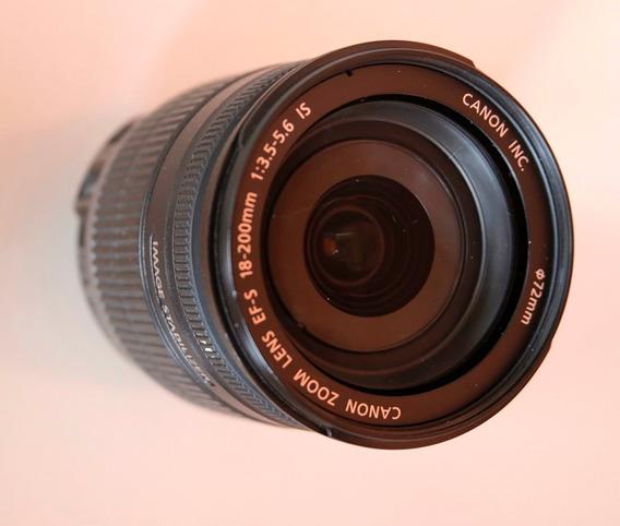 Lente Canon Efs18 200mm F/3.5-5.6