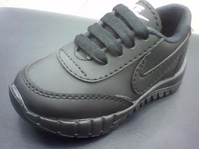 Zapatos Deportivos Blanco Negro Nike Free Niño Oferta
