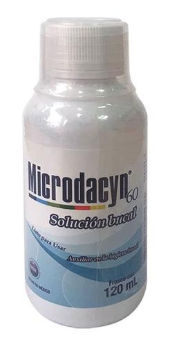 Solucion Bucal Microdacyn 60 X 120ml