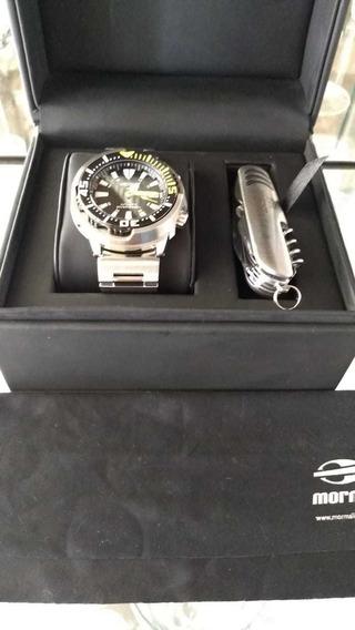Relógio Automático Seiko Srp 639 Não Turtle Padi Monster