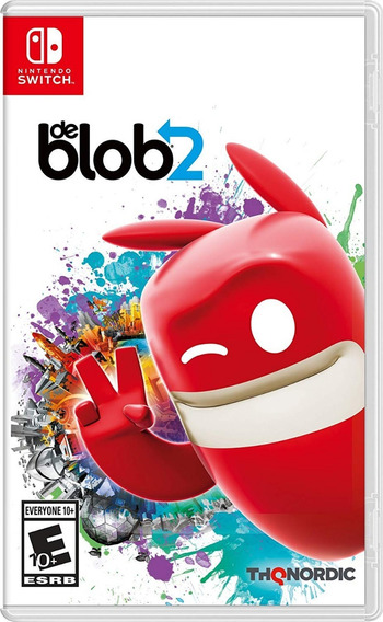 De Blob 2 Switch Mídia Física