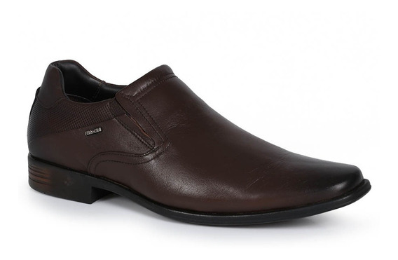 Sapato Social Masculino Ferracini Couro