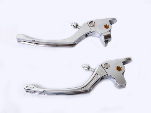 Levers Palancas Regulables Cromo Para Harley Touring 17-19