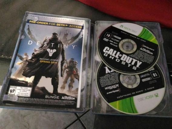 Call Of Duty Ghosts Steel Case Xbox 360 Edição Colecionador