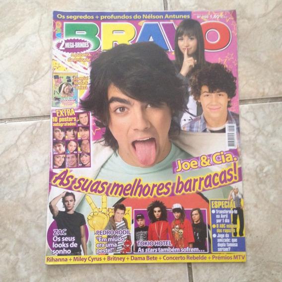 Revista Bravo 266 17/11/2008 Joe & Cia. Zac Tokio Hotel