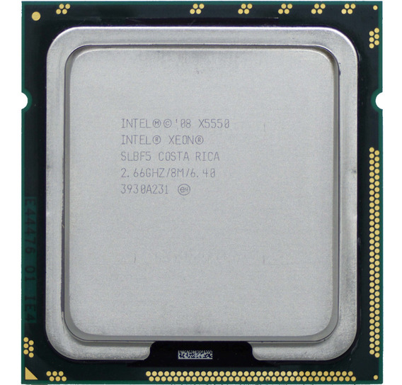Process Intel Xeon X5550 Quad Core 8 Threads Lga1366= I7 940