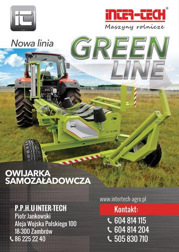 Envolvedora De Fardos Intertech - Polonia