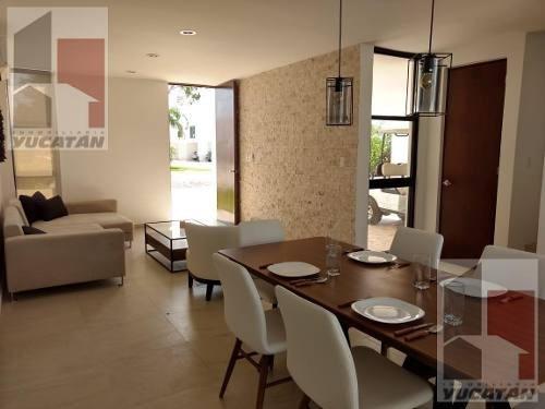 Estrena Casa!!! Nueva Etapa En Privada Botanico Conkal,mérida,yucatán