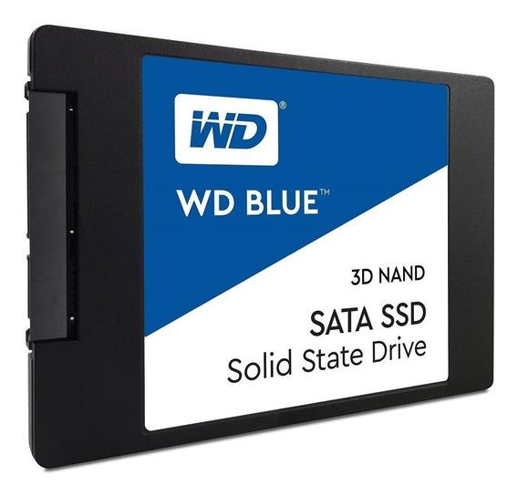 Ssd Wd 1tb Blue Sata3 2.5 7mm Wds100t2b0a Tecnologia 3d Nand