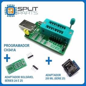 Gravadora Bios Eprom Ch341 + Adaptador 200mil + Frete Gratis