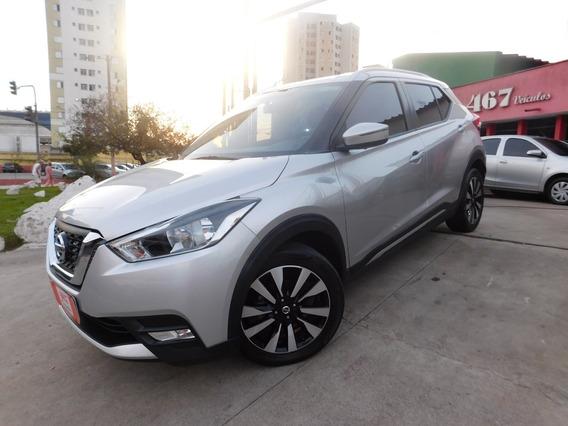 Nissan Kicks 1.6 Sv Automatica 2018 Prata