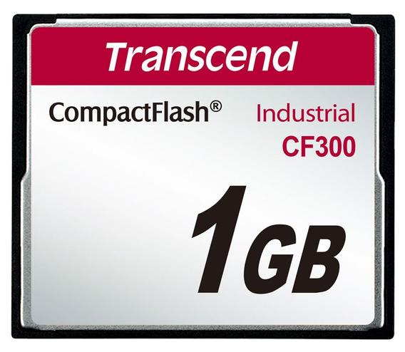 Compactflash Transcend 1gb Ts1gcf300 300x Industrial