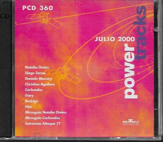 Gary Cachumba Rodrigo Natalia Oreiro Power Tracks Cd Promo