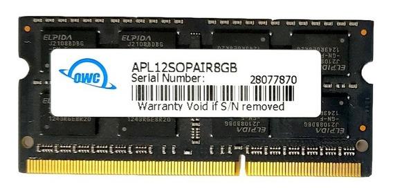 Memoria Ddr3 8gb Kit (2 X 4gb) 1600 Mhz Sodimm Owc Premium