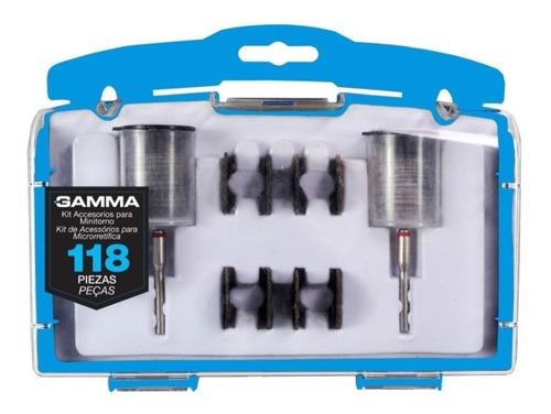 Kit Accesorios Para Minitorno 118 Pz Gamma Einhell Dremel