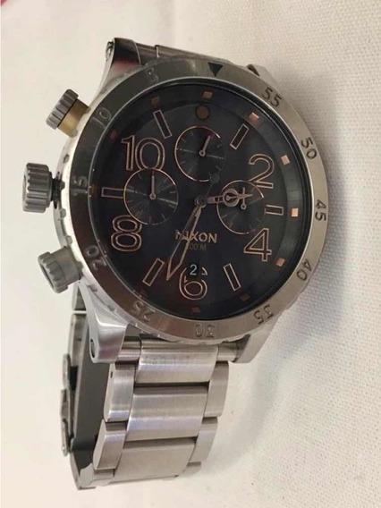 Relógio Nixon 48-20 Stanless Steel Original/ Novo