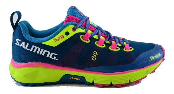 Zapatillas Salming Running Trail 5 Mujer Máxima Calidad