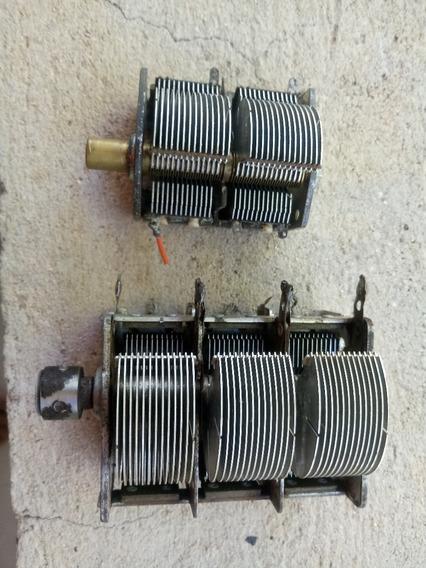 Capacitores Variavel (kit 02 Unidades 2 Sessões E 3 Sessões)