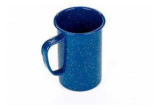 Tarro Recto De Peltre Azul Para 620 Ml Caja 6 Piezas