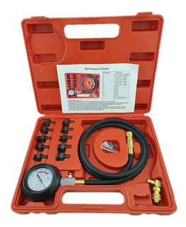 Kit Medidor Manometro Presion De Aceite Automotriz Universal
