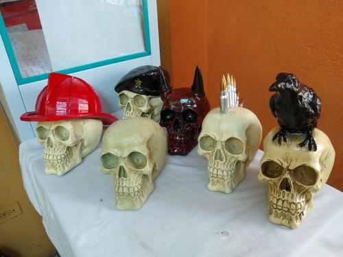 Cráneos En Resina Poliester