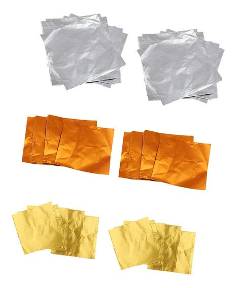 Papel De Aluminio Para Chocolate Multicolor - 600 Unidades