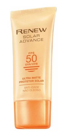 Renew Avon Protetor Solar Advance Ultra Matte Fps 50