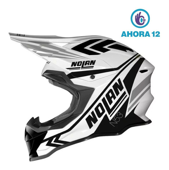 Casco Moto Enduro Nolan N53 Logic Ahora 12