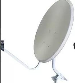 Kit 2 Antena Completa Banda Ku 60cm C/parafusos S/lnb