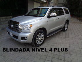 Toyota Sequoia Platinum Blindada Nivel 4 Plus 2013