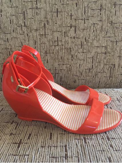 Sandália Colcci Vermelha Nº 37
