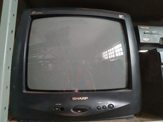 Tv Sharp 14 Polegadas Funcionando Perfeitamente