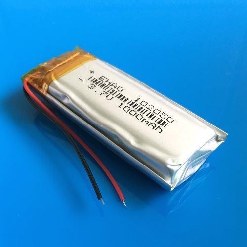 Bateria 1000 Mah 3,7v Gps Tamanho 10mm X 20mm X 50mm Grossa