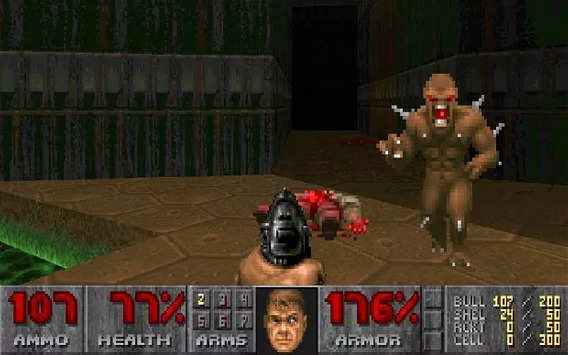 Jogo Doom 1 + Doom 2 Para Pc Envio Imediato