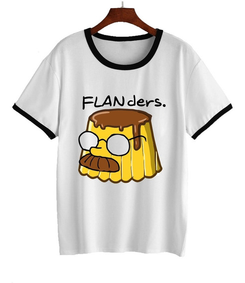 Remera Simpson Flanders Homero Bart Dama 5
