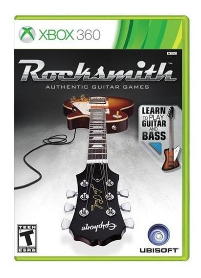 Rocksmith Guitar And Bass + Cabo Pronta Entrega
