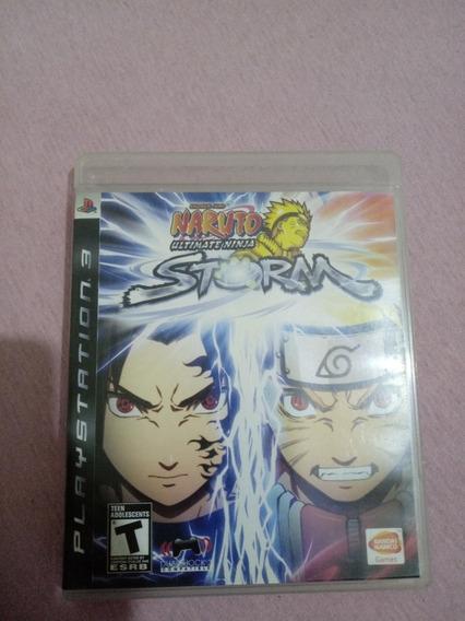 Jogo Ps3 Naruto Ultimate Ninja Storm