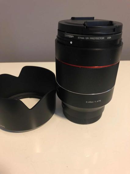 Lente Rokinon Af 50mm 1.4 Sony E-mount