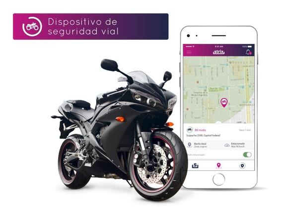 Más Que Una Alarma Para Moto - Gps Strix By Lojack