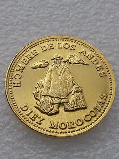 Moneda Ficha 10 Morocotas Los Aleros, Venezuela