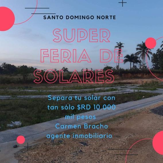 Solares En Venta En La Carretera Ramón Matias Mella