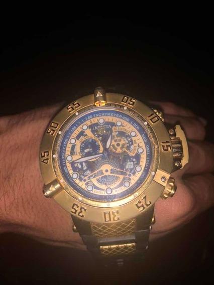 Relógio Invicta Dourado Vedado!! ¿¿¿