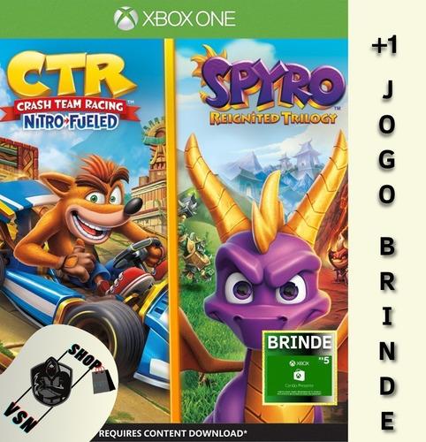 Crash Team Racing Nitro-fueled + Spyro - Digital One Xbox